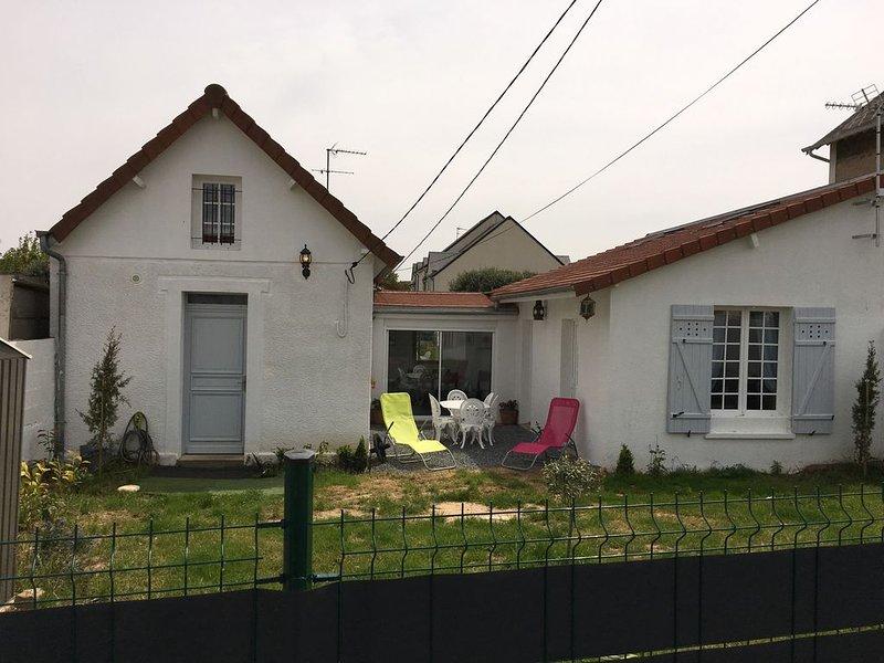 location de vacances dans petit village de bord de mer, location de vacances à Biéville-Beuville