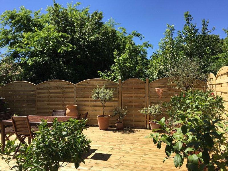 Appartement 3 pièces avec Terrasse et jardin privatif, casa vacanza a Cambes