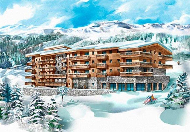 Appartement Ski au pied dans grand chalet avec piscine chauffée, 50m de l'ESF, holiday rental in Les Arcs