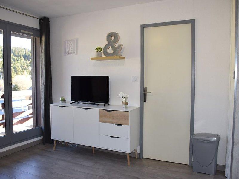 Appartement T2 aux pieds des pistes de P2000, casa vacanza a Bolquere