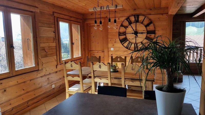 Gîte 3* dans Chalet 'Les Picaillons'  4-6 personnes au calme, vacation rental in Les Villards-sur-Thones