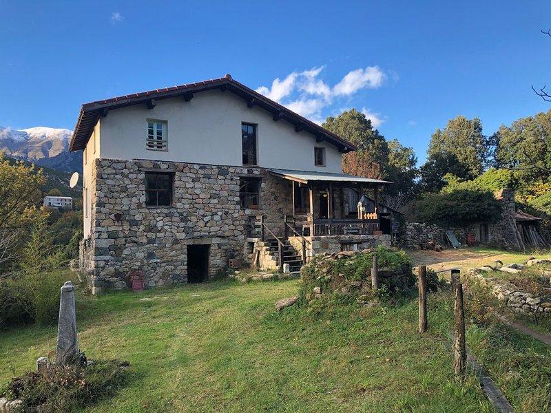 U Prelu Vivario Corse 20219 Haute Corse, location de vacances à Vénaco