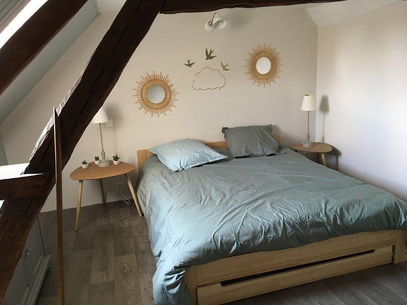 Petite maison de campagne proche de la Baie  somme, pour 4 personnes, holiday rental in Beauvoir Wavans
