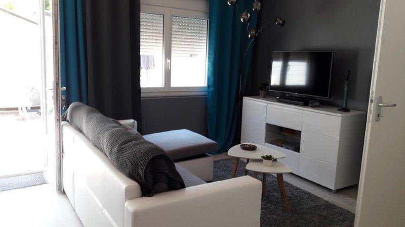 Maisonnette pour 2 au calme avec Jardin + WIFI proche de la plage, alquiler de vacaciones en Landes