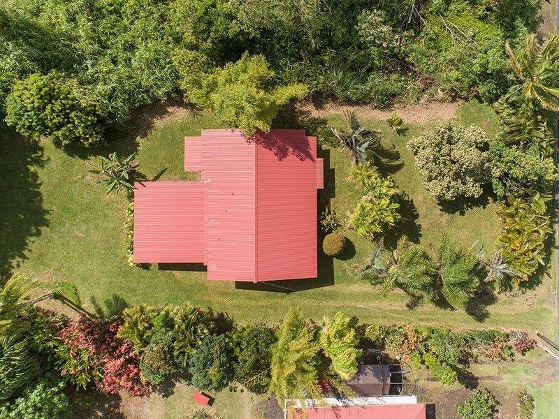 Aerial view showing verdant surroundings