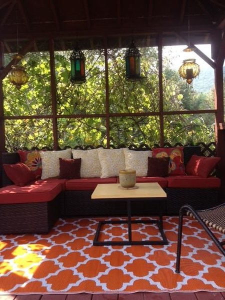 Relax in the Gazebo