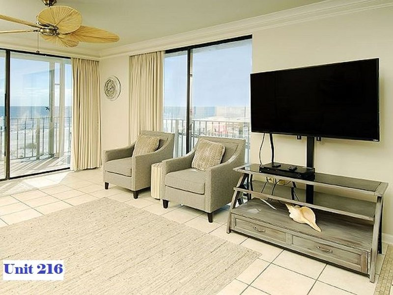 Gulf Shores Beachfront low density building with wonderful views from every room, alquiler de vacaciones en Gulf Shores