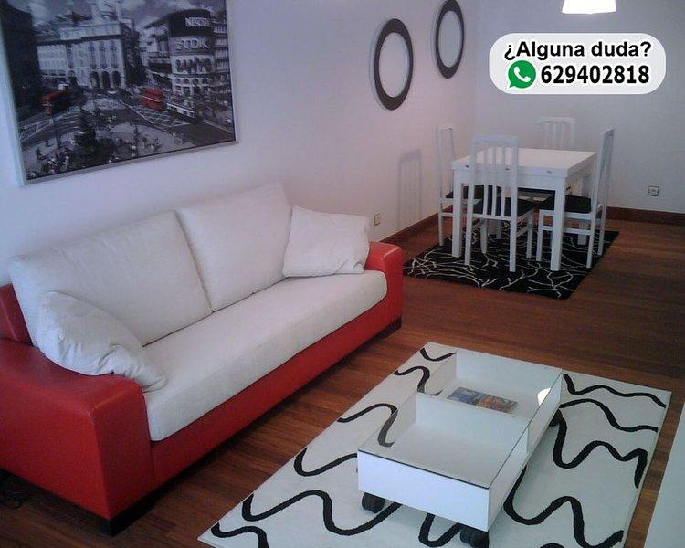 Apartamento Entrecanales Bilbao, holiday rental in Orozko