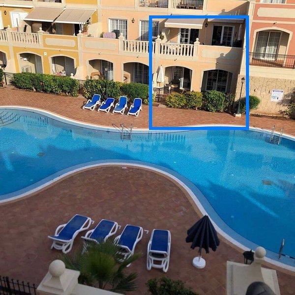 Luxe duplex appartement met 2 grote terrassen zuid-west orientatie, location de vacances à Palm-Mar