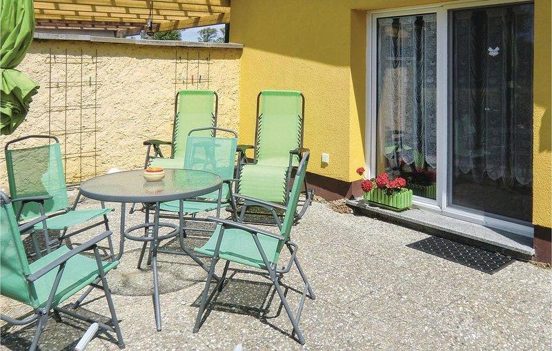 1 Zimmer Unterkunft in Ummanz, holiday rental in Lieschow