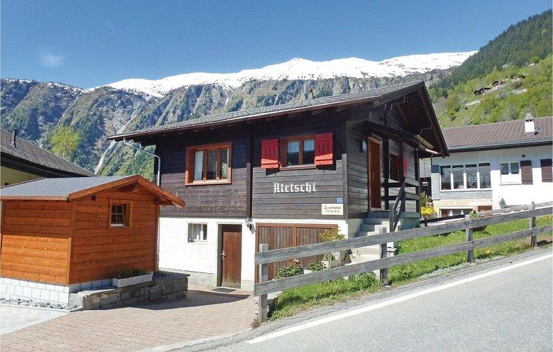 2 Zimmer Unterkunft in Blatten bei Naters, holiday rental in Blatten bei Naters