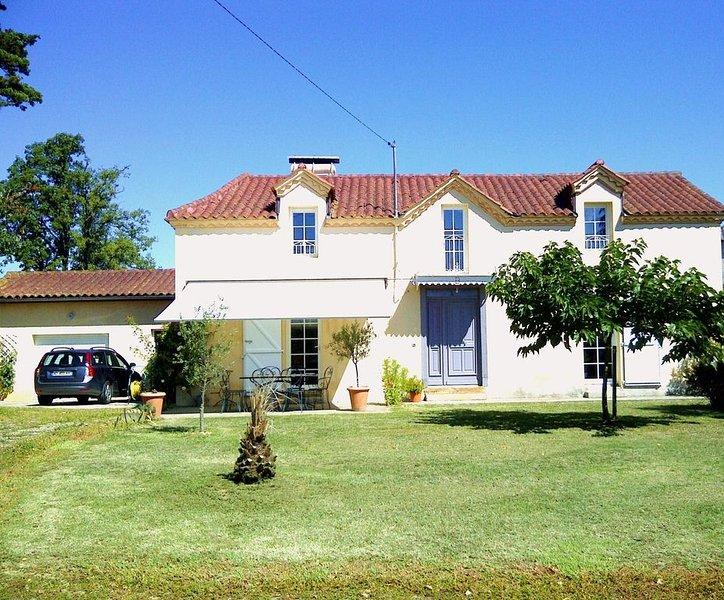 MAISON DE CHARME AU CŒUR DE LA GASCOGNE, holiday rental in Segos