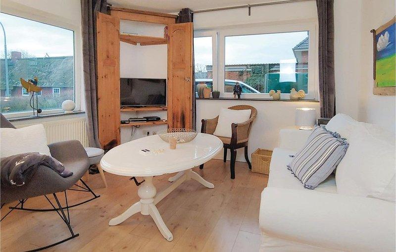 2 Zimmer Unterkunft in Dagebüll, vacation rental in Wyk auf Foehr