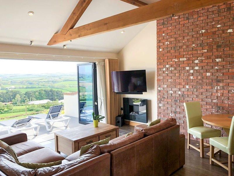 Romantic self catering apartment near Bude, Cornwall, location de vacances à Marhamchurch