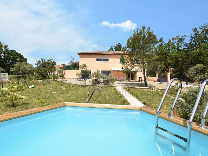 Air-conditioned villa with private pool,near by Verdon gorge, holiday rental in Tavernes