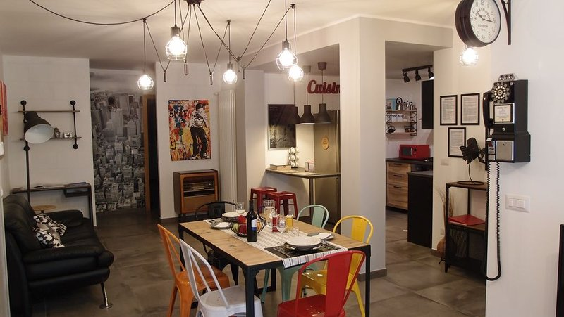 The black dog house : All NEW  apartment close to Bari, holiday rental in Carbonara di Bari