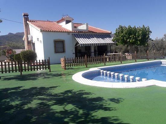 Casa rural (alquiler íntegro) Villa Mercedes para 9 personas, location de vacances à Caravaca de la Cruz