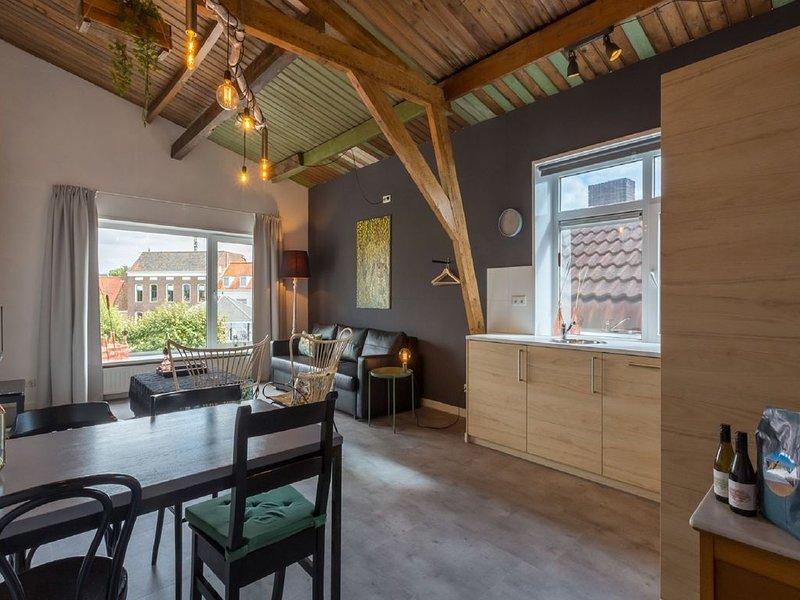 Lovely, modern, 3 person apartment in the heart of Koudekerke, location de vacances à Koudekerke