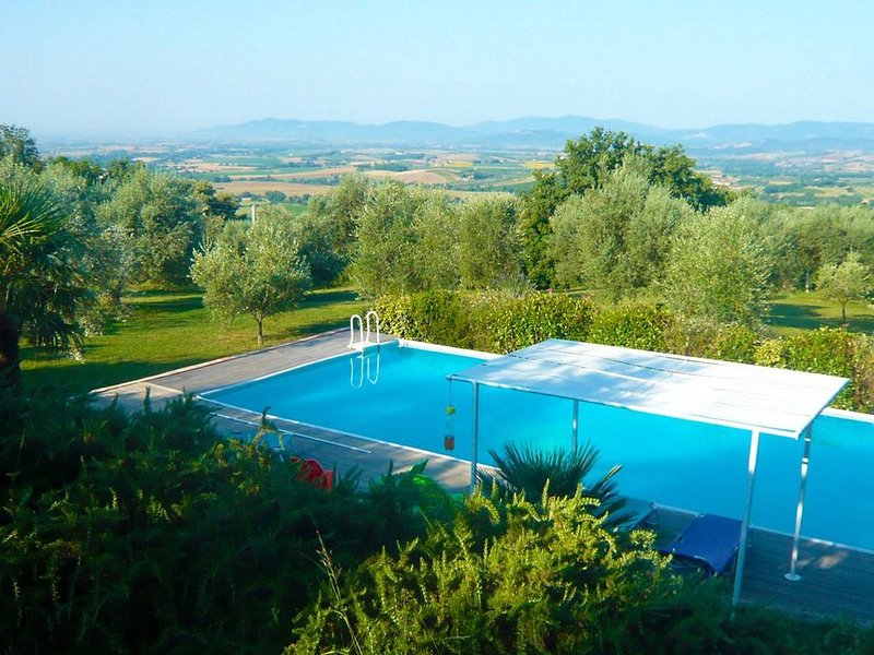 Swimming pool - Panorama - Tuscan Nature, holiday rental in Roccastrada