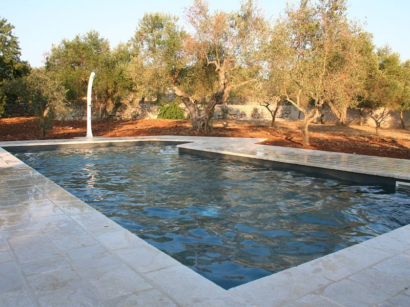Una bellissima moderna e tradizionale villa con piscina, casa vacanza a Gagliano del Capo