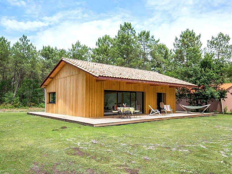 Jolie maison de charme au coeur de la forêt du Pyla  sur 8000 m², location de vacances à Cazaux