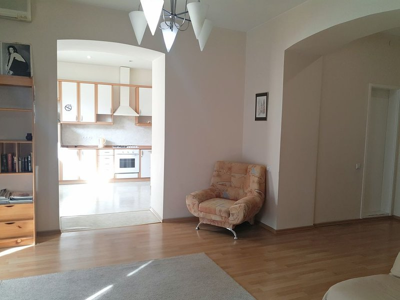 Spacy 2room apt in the center of Kiev, vacation rental in Irpin