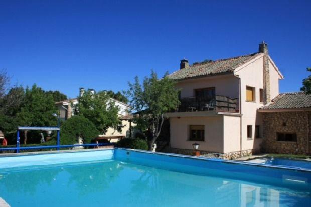 Apartamento rural La Casita del Abuelo Antonio para 11 personas, location de vacances à Bernuy de Porreros