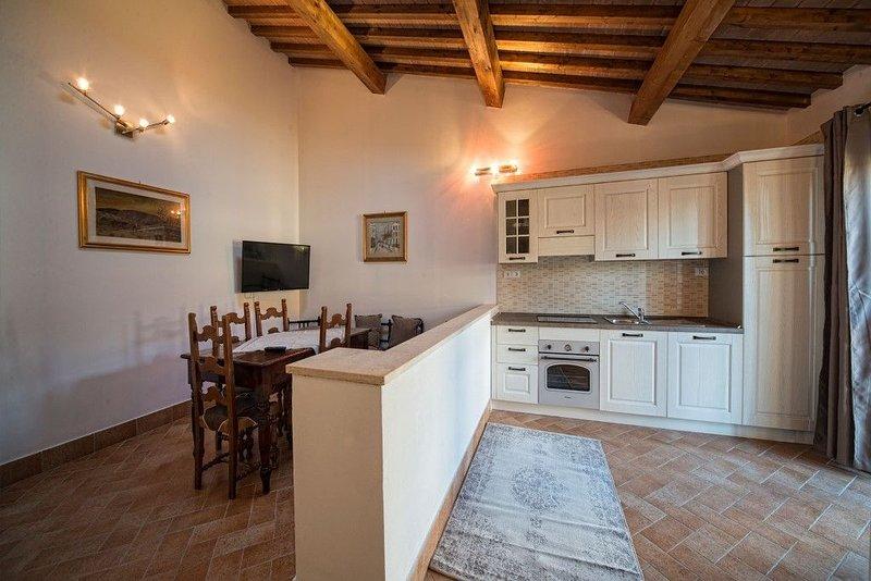 La vecchia cantina guzzardi- Appartamento TULIPANO, vacation rental in Ponsacco