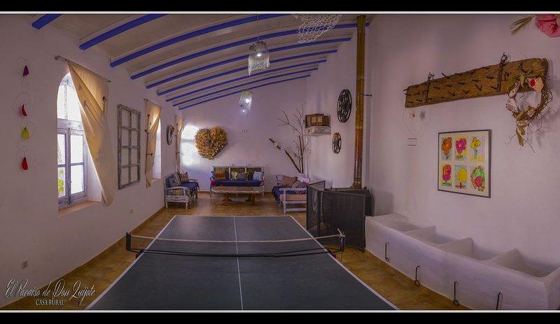 El Paraiso de Don Quijote Finca Completa, location de vacances à Alameda de Cervera