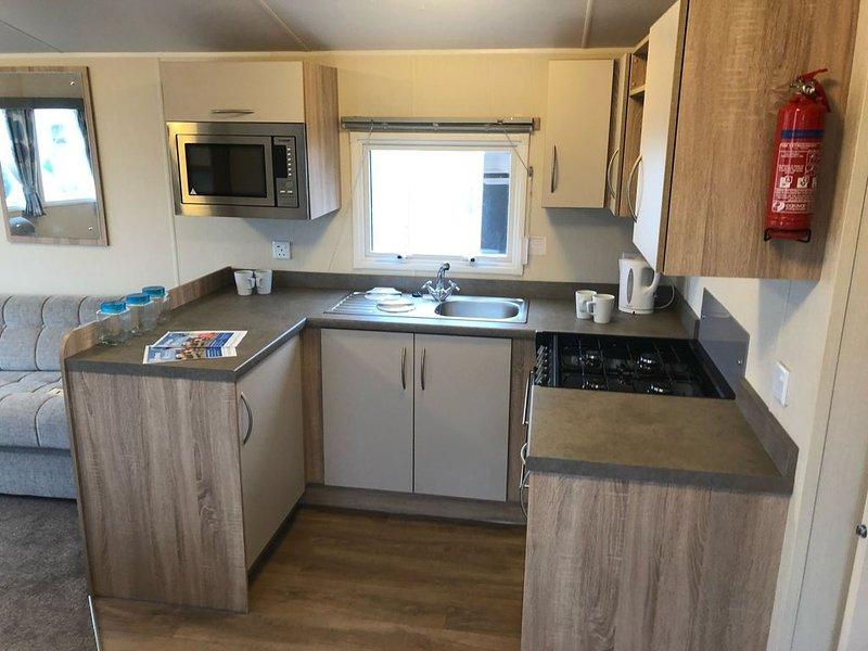 Brand new 37ft x 12ft Willerby Rio Gold deluxe Newer Model Caravan 8 Berth, location de vacances à Flamborough