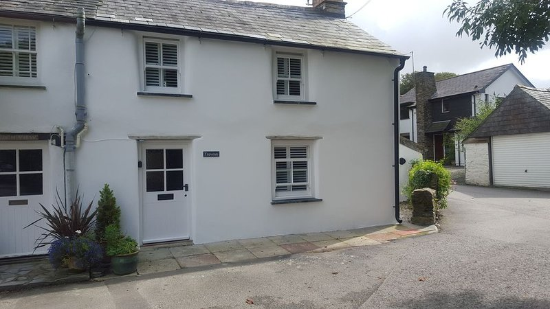 Cosy 2 bedroom  cottage in St Teath near Port Isaac, North Cornwal, holiday rental in Bodmin