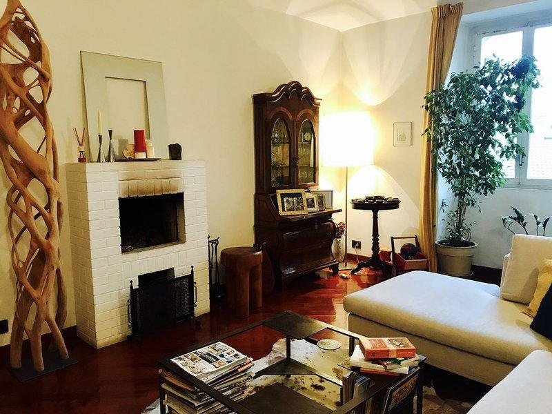 Appartamento Centralissimo tra Piazza Vittorio e parco Valentino. Free Wi-Fi, casa vacanza a Torino