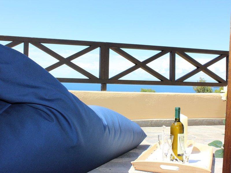 Frina House Poseidi Halkidiki with Fantastick Sea and Sunset Views. (Sleeps 5), holiday rental in Possidi