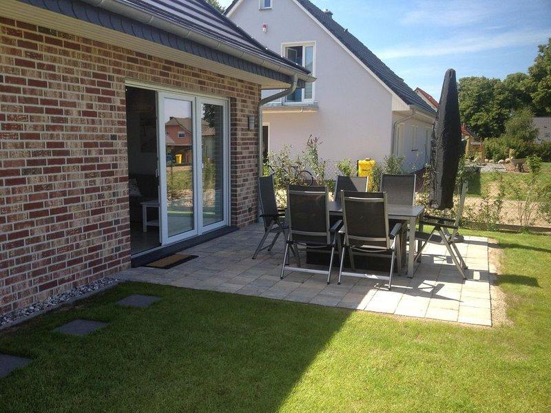 gehoben ausgestattete, ruhig gelegene Unterkunft mit Garten und Terrasse, holiday rental in Ostseebad Rerik