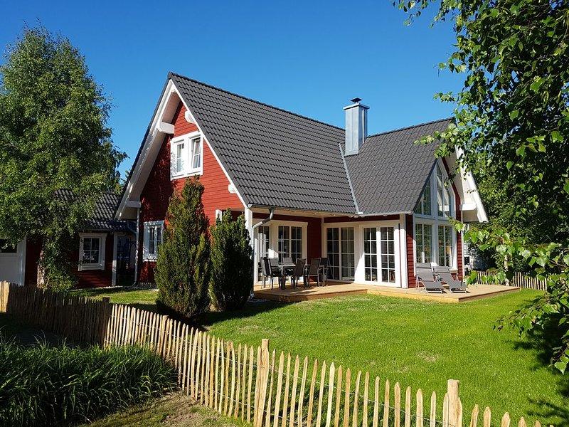 Landhaus Birka - ein Familientraum, location de vacances à Rubkow