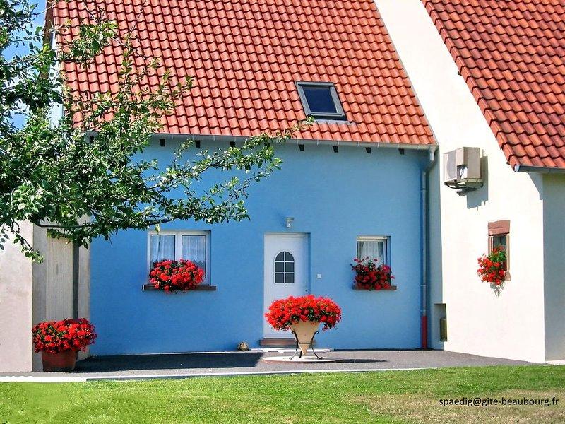 Neues Ferienhaus im schönen krummen Elsass. Am Waldrand und voll in der Natur., holiday rental in Petersbach