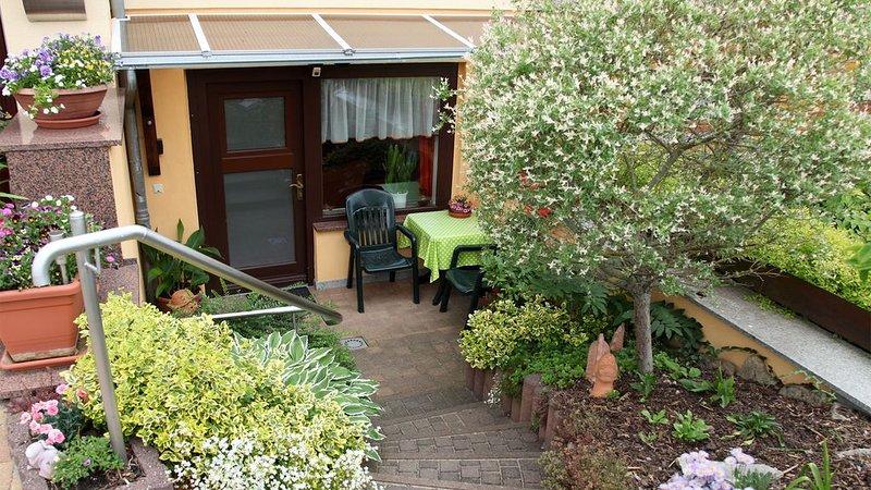 familienfreundliche und ruhige Ferienwohnung mit Schloßblick, location de vacances à Rudolstadt