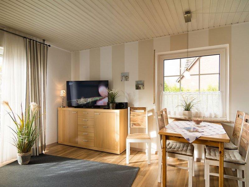 Wohnung 3 Haus Daniel, WiFi frei, 400m zum Deich, Terrasse, location de vacances à Neuharlingersiel