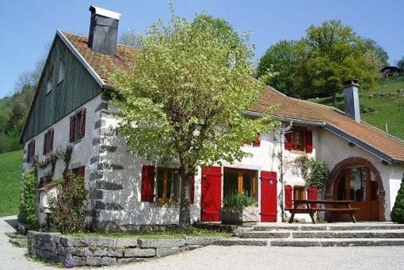 Magnifique Ferme rénovée au coeur des Htes-Vosges avec SAUNA - 12/14 pers., holiday rental in Cornimont