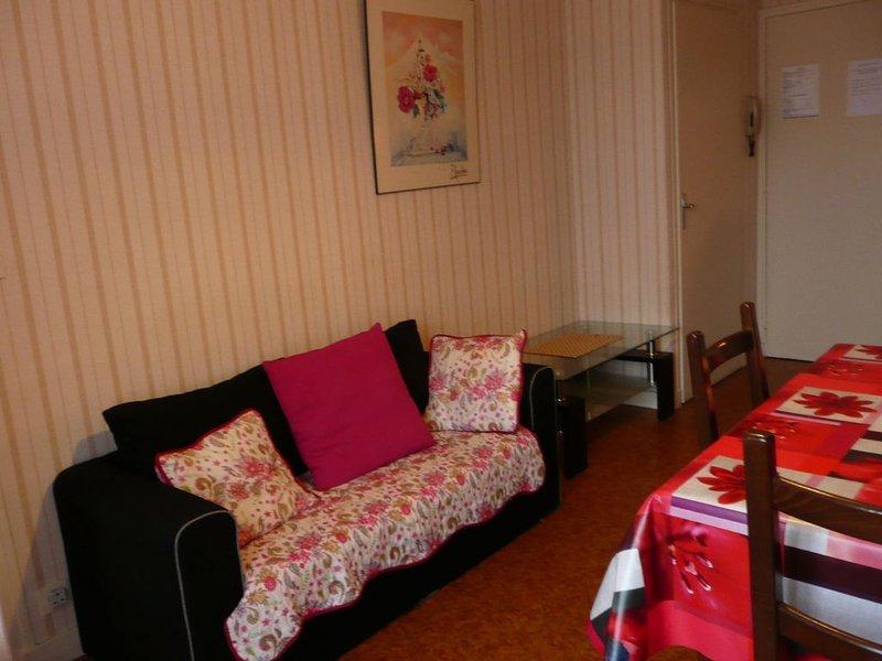 Appartement dans immeuble au coeur de la ville pour cure et pour séjour, location de vacances à La Bourboule