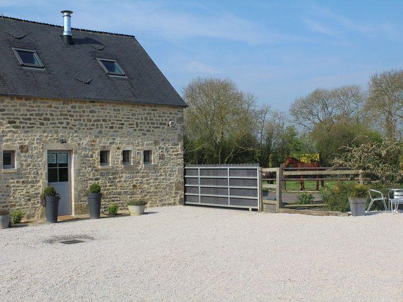 Gîte familial, La Forge Pascal à Sainte Mère Eglise , 6 places, holiday rental in Ravenoville