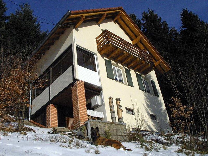 Linthal, chalet individuel avec véranda situé en montagne à 1050 mètres d'altitu, holiday rental in Sondernach