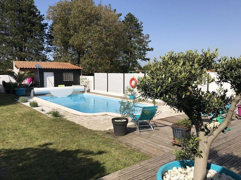 La Parenthèse Oléron Maison de charme, piscine privative, Grand-Village-plage, holiday rental in Le Grand-Village-Plage