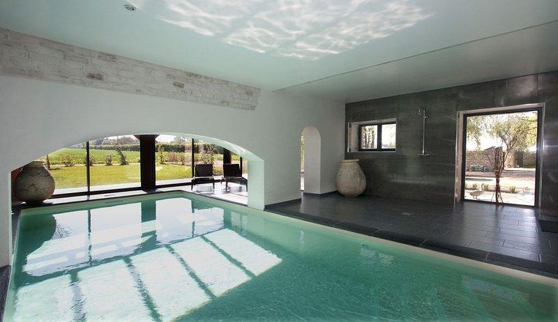 Grande propriété en Bourgogne, jardin bord de rivière, piscine intérieure privée, holiday rental in Vosne-Romanee