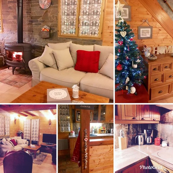 Chalet de montagne Neuf tout confort proche station, holiday rental in Fontrabiouse