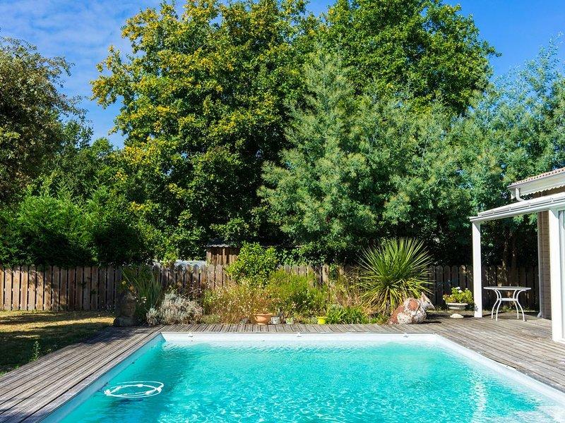 Belle maison en bois 4**** Ambiance Zen, location de vacances à Biganos