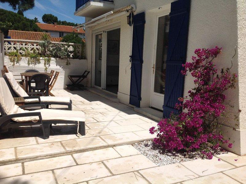 Maison située en bord de plage vue de mer de l'étage., Ferienwohnung in Argeles-sur-Mer