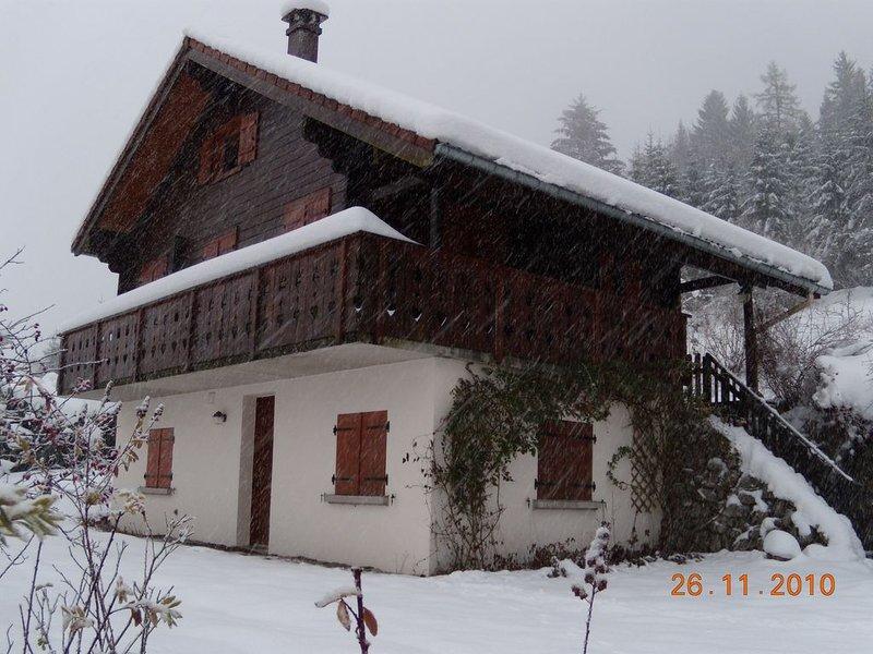 Chalet typique au coeur des Vosges, proche GERARDMER, location de vacances à Rochesson