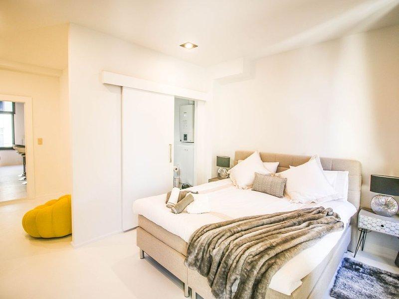 Emplacement excptionnel ! Magnifique duplex design,  neuf et très bien équipé, vacation rental in Brussels