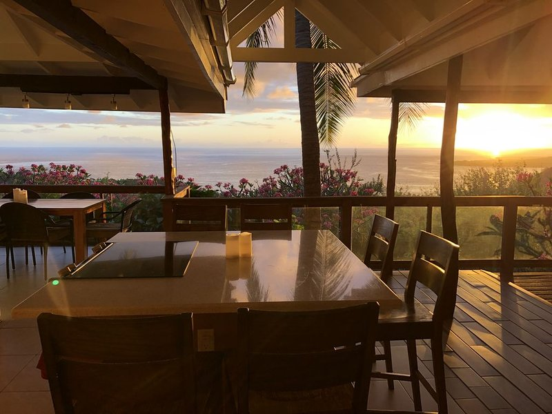 Stunning oceanview property minutes from dolphins, location de vacances à Captain Cook